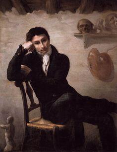 T. Géricault, Portrait d'un Artiste dans son atelier