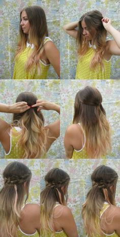 Do It Yourself – Trendy Braided Hairstyle