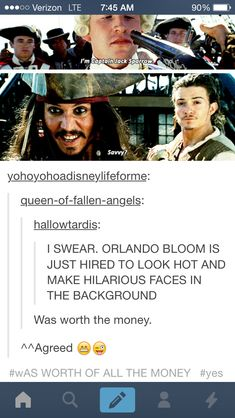 Tumblr funny comments pirates of the carribean