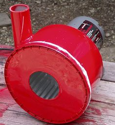 Home built forge blower -Ray Rogers