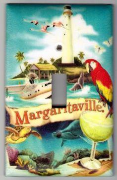 Margaritaville / Island Life Switchplate by SpottedDogStudios, $8.00