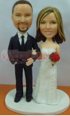 Custom Cake Toppers Personalized Figurines For Wedding Birthday Anniversary Party