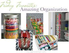 Friday Favorites: Amazing Organization