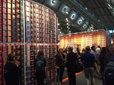Feria del Libro de Frankfurt 2015 Frankfurt, Times Square, Sign, Travel, Viajes, Traveling, Tourism, Outdoor Travel