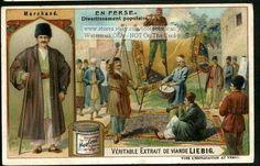 Persia Iran Games Men on Stilts Musicians Carpets c1907 Card   eBay