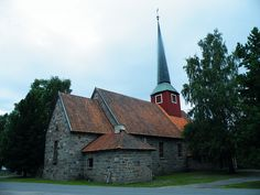 Hole church, Buskerud,NO
