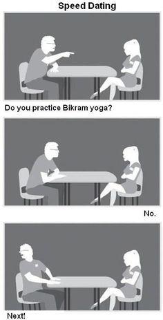 Bikram Yoga Speed Dating - #BikramYoga