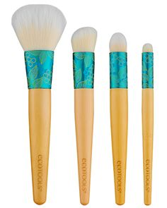 Complexion Collection Bundle: Begin every day fresh-faced with the Skin Perfecting Brush, reduce the appearance of fine lines or dark circles around eyes with the Eye Perfecting Brush, control shine and oily skin all day with the Mattifying Finish Brush and conceal imperfections with the Correcting Concealer Brush. With this bundled promotional price you are receiving nearly 15% off the retail value of $29!