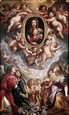 Madonna Della Vallicella  Peter Paul Rubens