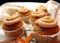 Cupcake speziati di zucca e mandorle al mascarpone | SICILIANI CREATIVI IN CUCINA | di Ada Parisi