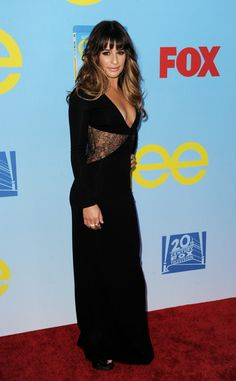 All the Times Lea Michele Killed It on the Red Carpet | At the Premiere of 'Glee' Season 4