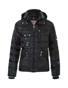Enjoy the style details & excellent technical performance of the @Bogner USA Pino Down Jacket for men.