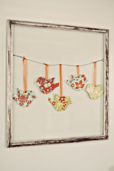 Frames,Twine & Birdies - Cute!