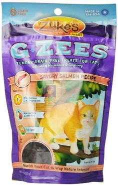 Zukes Cat GZees Savory Salmon Recipe 3Ounce -- Be sure to check out this awesome product.