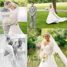 Brittnie & Matt Wedding Date:6.13.15  // Ceremony and Reception: St. Andrews Country Club, West Chicago, IL   //  Wedding Dress: Jasmine Couture Style with custom changes  //  Bridal Shoes: Pink Style Sizzle WH007 purchased at Jasmine Galleria  //   Photographer: Katherine Salvatori Photography