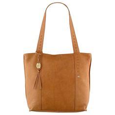 Ochre Blue Bess Large Tote Handbag, Tan