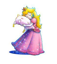 Princess Peach is so cute!