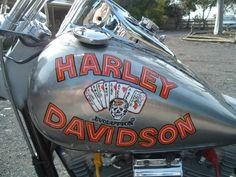 """Black Death"" from Harley Davidson & The Marlboro Man. FXR custom. Nice bike."