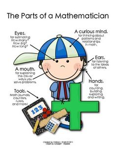 The Parts of a Mathematician {Boy} $