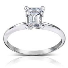 @Overstock - Emerald-cut diamond solitaire engagement ring14-karat white gold jewelryClick here for ring sizing guidehttp://www.overstock.com/Jewelry-Watches/14k-White-Gold-1ct-TDW-Diamond-Solitaire-Engagement-Ring-H-I-SI1-SI2/6749739/product.html?CID=214117 $3,761.09