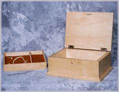 Free plans for jewelry box, PDF file - Plan 906M