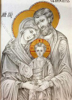 Ikony i sztuka sakralna: Święta Rodzina