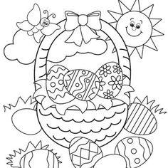 Easter Duck with Eggs FreenFun Easter httpwwwfreefuneaster