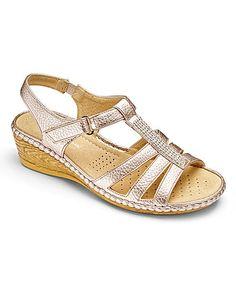8dff3d46a02 Cushion Walk Sandals EEE Fit