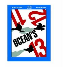 Ocean's Trilogy for only $13.99!  That means the each movie is only $4.66 for Blu-ray movies.  I love these shows.
