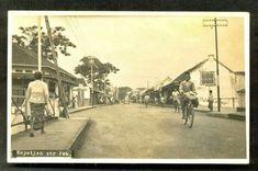 Pekalongan Kepatihan Street ~ Java ~ Indonesia ~ ca 1920s