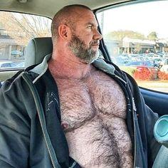 God-like Daddy Bo Dixon / Thom Austin Nips Hairy Hunks, Hairy Men, Bearded Men, Lgbt, Hot Beards, Scruffy Men, Beefy Men, Muscle Bear, Daddy Bear
