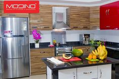 Every Modino kitchen is designed and made just for you. Unlike other kitchen manufacturers, we don't assemble from stock, we produce a unique Kitchen for each and every customer.