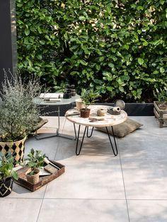 New: vtwonen collection of exterior tiles Terrace Tiles, Garden Tiles, Patio Tiles, Outdoor Tiles, Patio Rugs, Outdoor Rooms, Exterior Tiles, Terrace Garden, Back Gardens