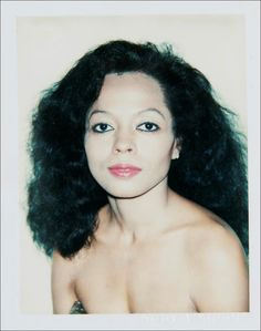 Diana Ross - Polaroid Andy Warhol - 7zic