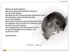 Willkommenskarte Geburt