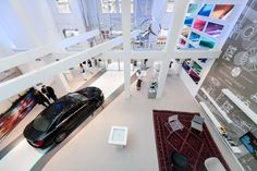 Mercedes Benz pop-up store by Buro in The Hague