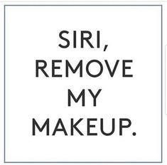 My, oh my, wouldn't that be nice to have Siri take care of one simple, yet oh so important task? Good thing it's an easy task that we can do ourselves! Removing your makeup daily is so important so it doesn't clog your pores and aggravate your skin. 509-961-6555 www.bareblissyakima.com #skincareroutine #healthyskin #barebliss #radiantskin #vibrantskin #skincare #loveyourskin #beautitudebybarebliss #makeupremover #yakima