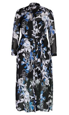 City Chic - LONGLINE LADY DRESS - Women's Plus Size Fashion - City Chic Your Leading Plus Size Fashion Destination #citychic #citychiconline #newarrivals #plussize #plusfashion
