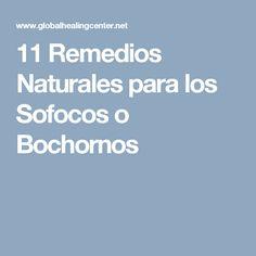 11 Remedios Naturales para los Sofocos o Bochornos