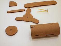 2 Make Cardboard Toilet Roll Planes Dusty Crophopper Skipper