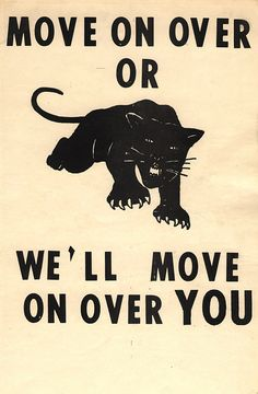 The violence used on the poster is nothing compared to the extreme damage Black Panthers did as a civil rights movement. Their destructive ways and endgame posters showed that their type of protesting was violent and abusive.n