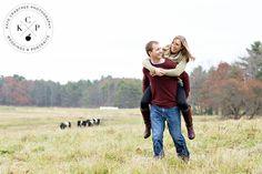 Wolfe's Neck Engagement Photography, Freeport Maine   Heidi & Rick