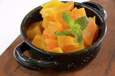 Dulce de calabaza Fruit Salad, Cantaloupe, Watermelon, Cooking, Desserts, Videos, Food, Food Cakes, Pumpkins