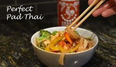 Thai one on tonight with this Pad Thai recipe that will satisfy both vegetarians and meat eaters.