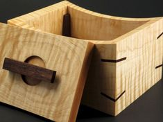 Fine wooden decorative artisitc box by BrianTyirinWoodwork on Etsy