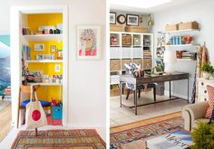 How to Create a Beautiful Craft Room, Laurel & Wolf,