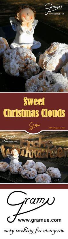 Sweet Christmas Clouds  Das sind neben den Schneewolken die einzigen Wölkchen die wir zur Weihnachtszeit akzeptieren können. Eine süße Versuchung und auf diese Wolken verzichten wir auch bei Sonnenschein unter keinen Umständen.   Mehr Infos gibt's auch unter www.gramue.com  #gramue #easycooking #easycookingforeveryone #einfach #cooking #kitchen #kochen #rezept #rezepte #köstlich #chef #advent #weihnachtszeit #weihnachten #winter #winterwonder #Nougat #Cranberrys #Nüsse #Weihnachtsstollen Cranberrys, For Everyone, Easy Cooking, Clouds, Advent, Sweet, Movie Posters, Christmas, Winter