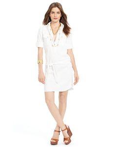 Women's   Casual Dresses   Roll Sleeved Denim Shirtdress   Hudson's Bay