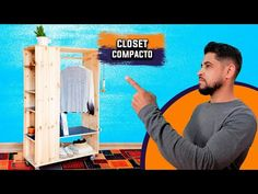 CLOSET COMPACTO CABE EM QUALQUER LUGAR ll COMO FAZER O SEU! D.I.Y - YouTube Company Logo, Diy, Youtube, Baseball Cards, Logos, Closet, Hand Tools, Compact, Ideas