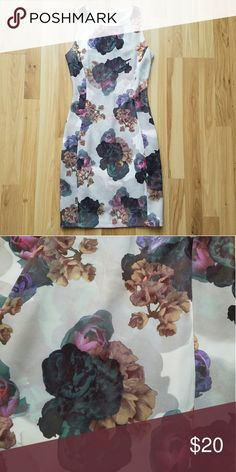 Floral Dress Used once. H&M Dresses